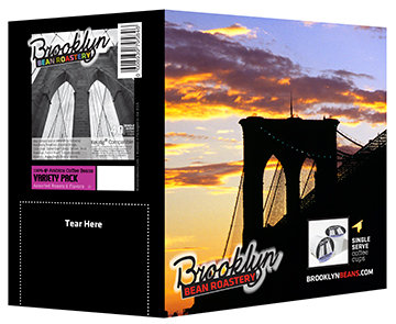 Brooklyn Beans Assorted Variety Pack Single Cup Coffee For