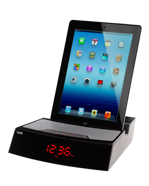 image gallery ipad alarm clock. Black Bedroom Furniture Sets. Home Design Ideas