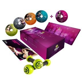 Zumba 4-Disc Exhilarate Body Shaping System