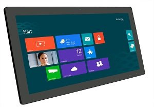 Planar 27-inch Touch Screen Monitor - side view