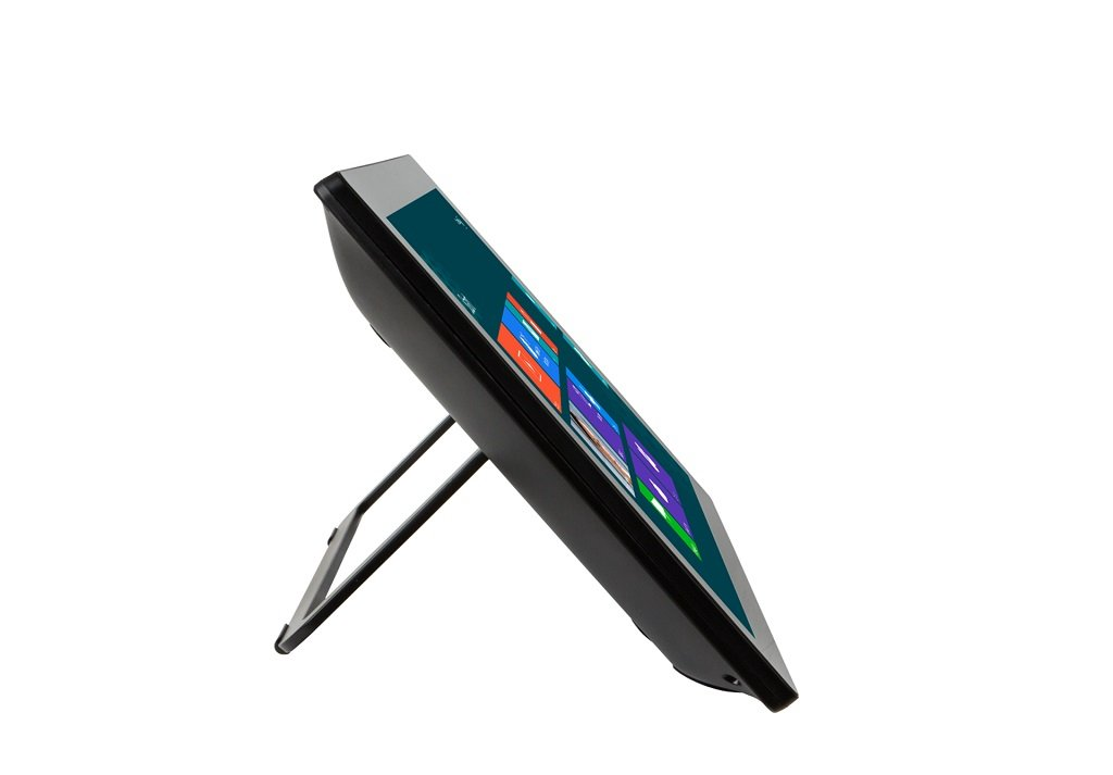 Planar Touch Screen - horizontal angle side view