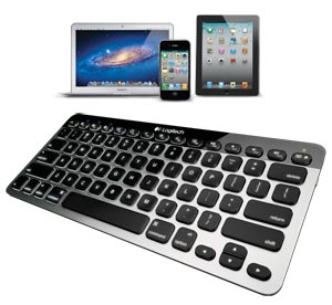 Logitech Bluetooth Easy-Switch Keyboard for Mac, iPad, iPhone