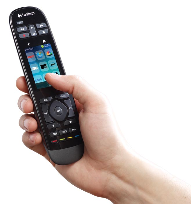 20572f730f0 New Logitech Harmony Touch Universal Remote with Color Touchscreen ...