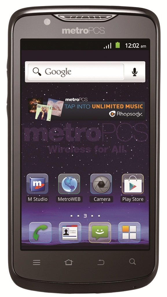 Amazon Com Zte Anthem 4g Lte Prepaid Android Phone