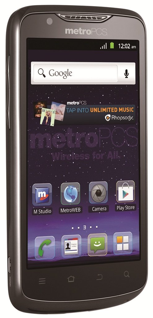 Amazon Com Zte Anthem 4g Lte Prepaid Android Phone
