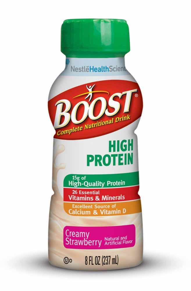 boost hi protein creamy strawberry ready to drink 8 ounce 12 count nutrition. Black Bedroom Furniture Sets. Home Design Ideas