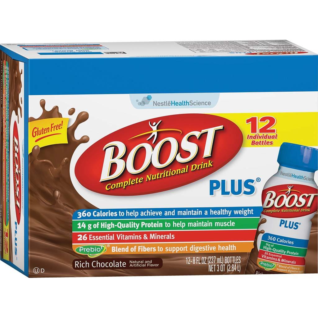 Amazon Com Boost Original Complete Nutritional Drink: Amazon.com : Boost Plus Chocolate Ready To Drink, 8 Fl Oz