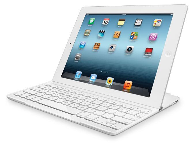 Amazon.com: Logitech Ultrathin Keyboard Cover White for