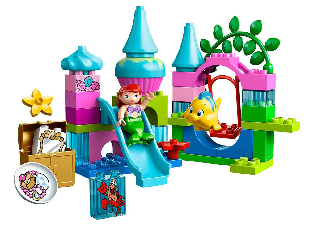 Toys For Legos : Amazon lego duplo princess ariel undersea castle