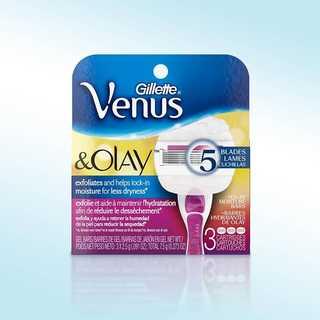 Venus and Olay in Sugarberry Razor Cartridges