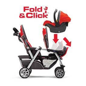 Amazon.com : Chicco Cortina Together Double Stroller