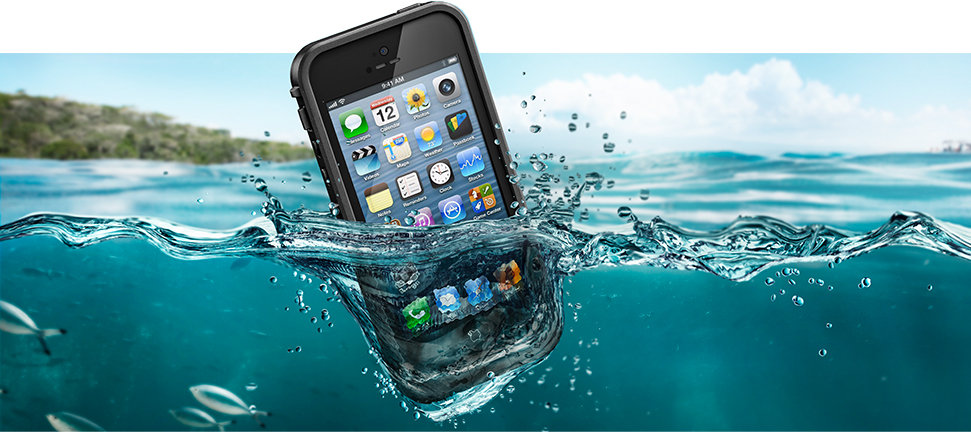 best loved 5d3dc d913a LifeProof FRE iPhone 5 Waterproof Case - Retail Packaging - TEAL/BLACK  (Discontinued by Manufacturer)