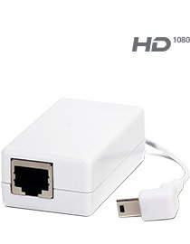You can switch from Wi-Fi to Power-over-Ethernet by using our PoE Dongle. Sold separately.