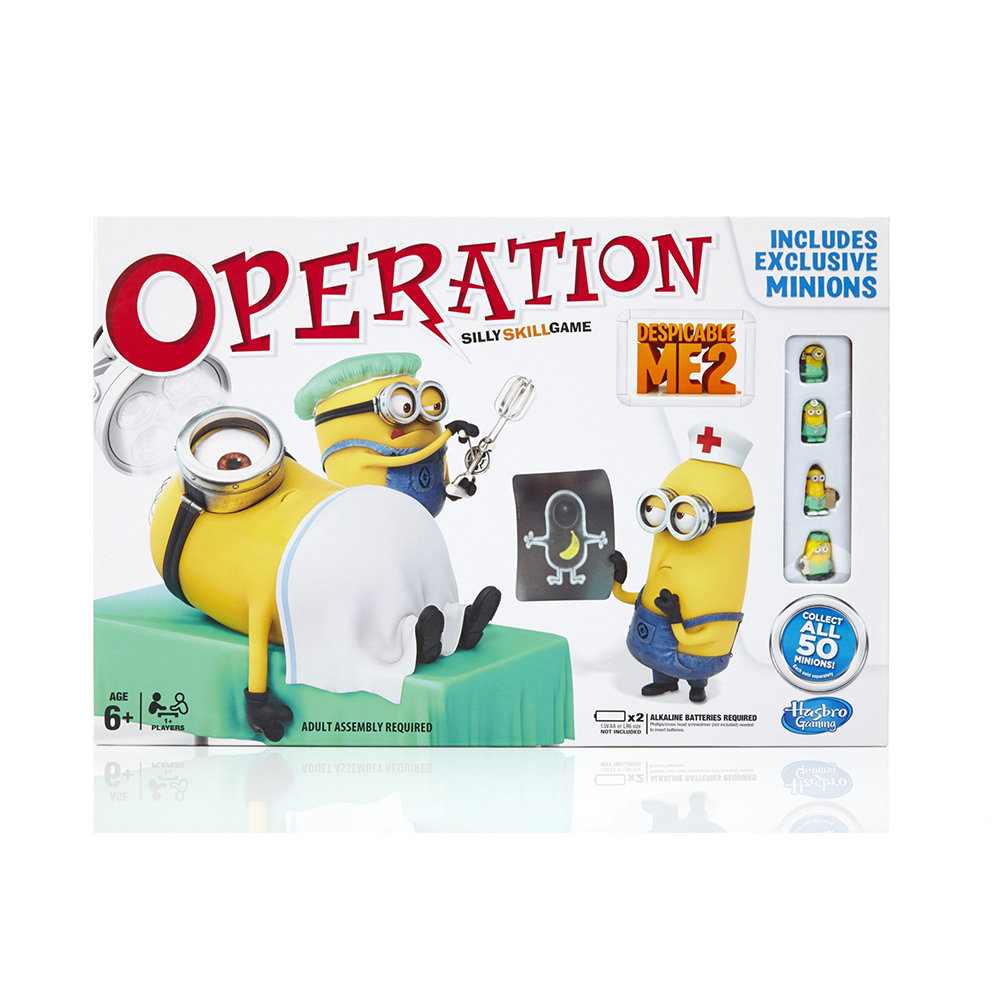 amazon com operation despicable me silly skill game toys games