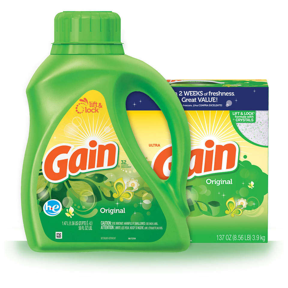 Amazon Com Gain He 2x Concentrated Liquid Detergent
