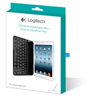 Logitech Ultrathin Keyboard Cover Mini for iPad mini - Black