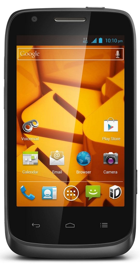 Amazon Com Zte Force 4g Lte Prepaid Android Phone Boost