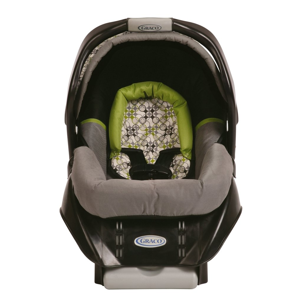 Amazon.com : Graco SnugRide Classic Connect Infant Car Seat, Surrey ...