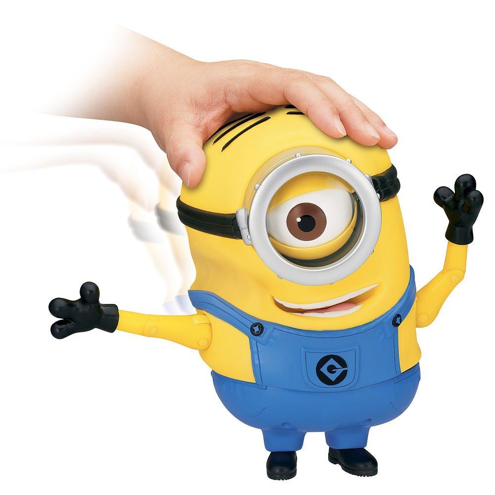 Amazon.com: Despicable Me Minion Stuart Laughing Action Figure: Toys