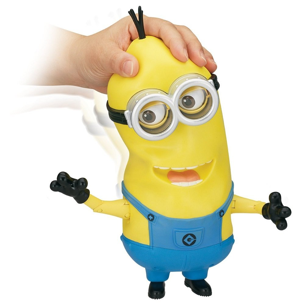Amazon.com: Despicable Me Minion Tim The Singing Action Figure: Toys & Games