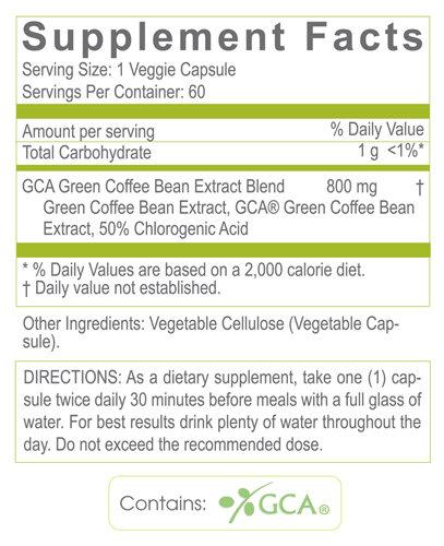 Amazon Com Creative Bioscience Combo Pack Green Coffee Bean Pure