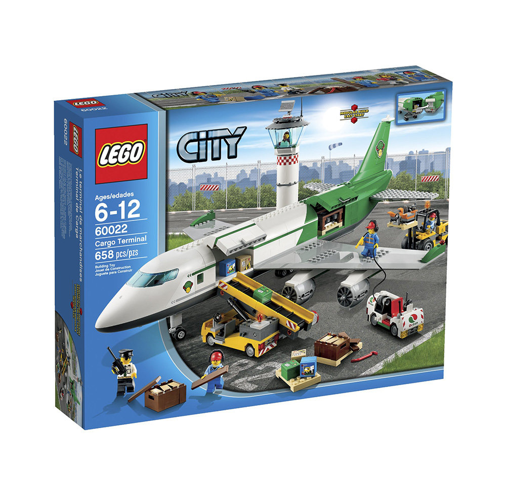Amazon.com: LEGO City 60022 Cargo Terminal Toy Building ...