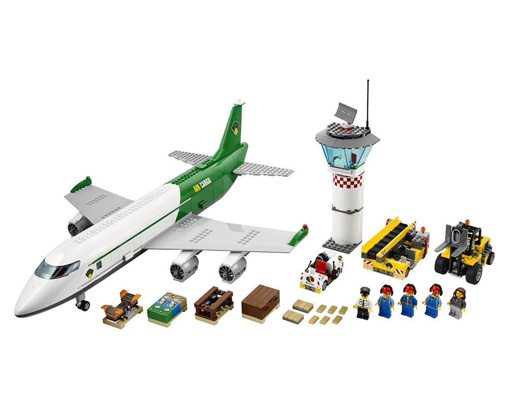 amazon.com: lego city 60022 cargo terminal toy building set ... - Lego City Airplane Coloring Pages