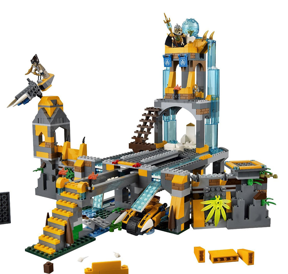 Amazon.com: LEGO Chima 70010 The Lion CHI Temple (Discontinued by