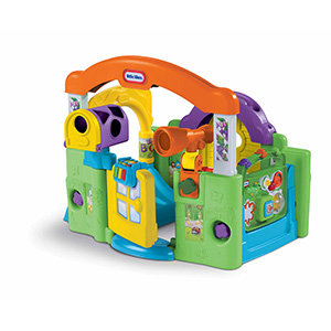 Little Tikes Activity Garden helps baby grow and develop.