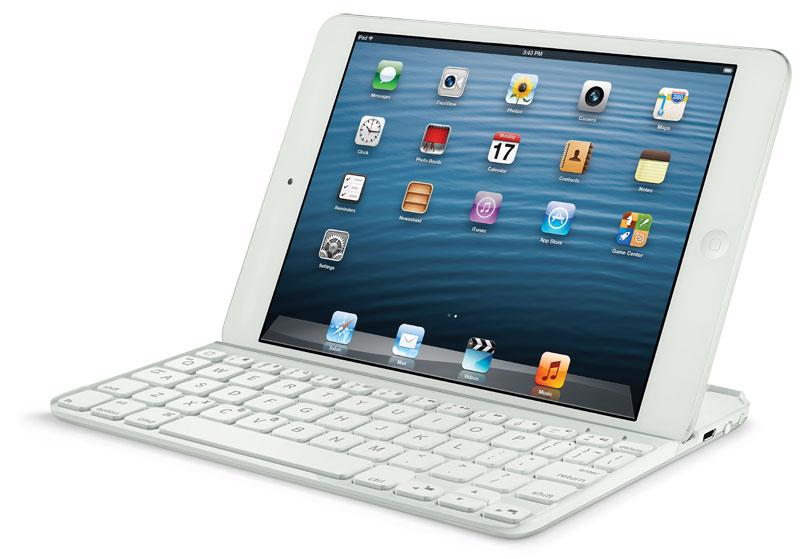 logitech ultrathin keyboard cover mini for ipad mini white computers accessories. Black Bedroom Furniture Sets. Home Design Ideas