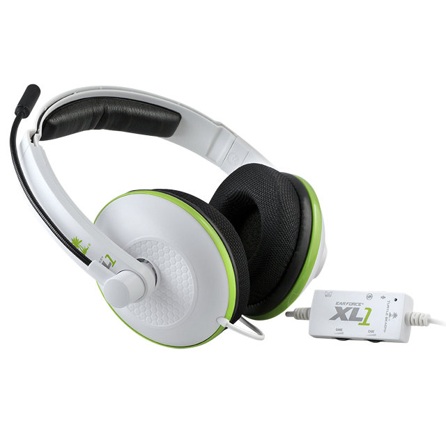 2ab3a6730d6 Amazon.com: Turtle Beach Ear Force XL1 Amplified Wired Headset with ...