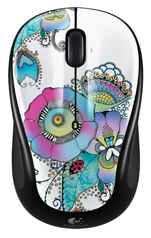 Logitech M325 Wireless Mouse with Designed-For-Web Scrolling - Fusion