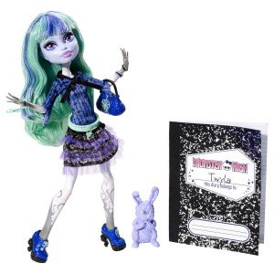 Amazon.com: Monster High 13 Wishes Twyla Doll: Toys & Games