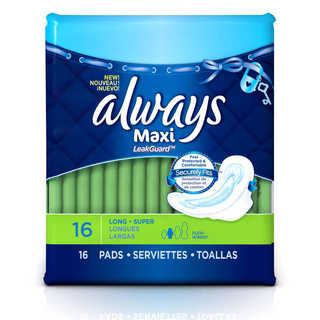 Always Radiant Infinity Pads, Always Infinity Pads, Always Ultra Thin Pads (This Product), Always Ultra Thin Soft & Clean with Odor-Lock Pads ...