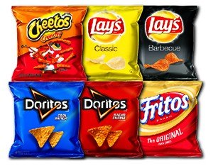 Amazon.com: Frito-Lay Variety Pack, Classic Mix, 30 pack ...