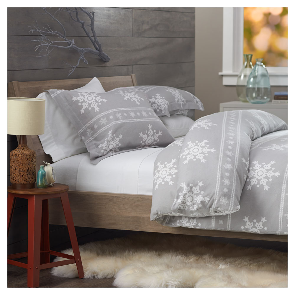 Amazon Com Pinzon Lightweight Cotton Flannel Duvet Cover
