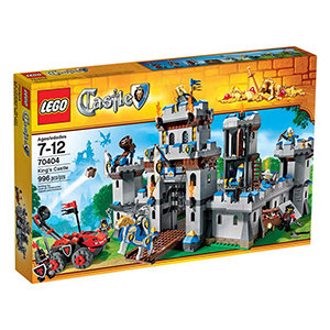 Includes 7 mini figures with weapons and accessories: the King, White Knight, 2 King