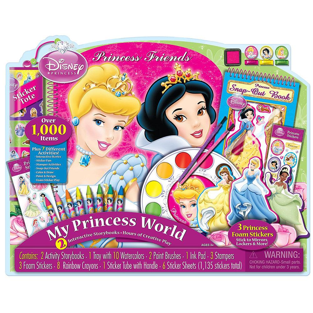artistic studios disney princess friends giant art collection seven different activities - Disney Princess Art And Activity Collection