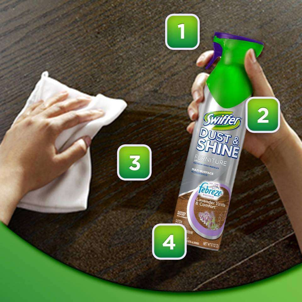Amazon Com Swiffer Dust Amp Shine Furniture Polish Cleaner