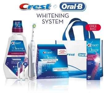Crest + Oral B Whitening System