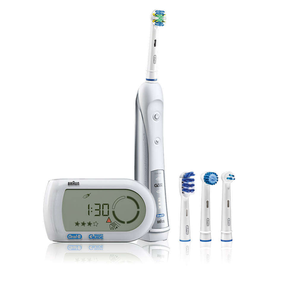 What is the Oral B Pro ? The Oral B Pro is an entry-level electric toothbrush in the Oral-B Professional Care range that uses a complex combination of cleaning motions designed to disrupt and remove as much plaque from the teeth surface as possible.