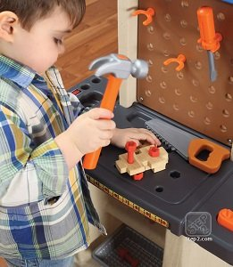 B00D9OMWG4 01 - Step2  Handy Helpers Workbench Building Set