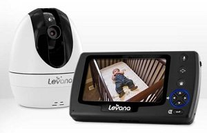 levana ovia digital baby video monitor with talk to baby interco. Black Bedroom Furniture Sets. Home Design Ideas