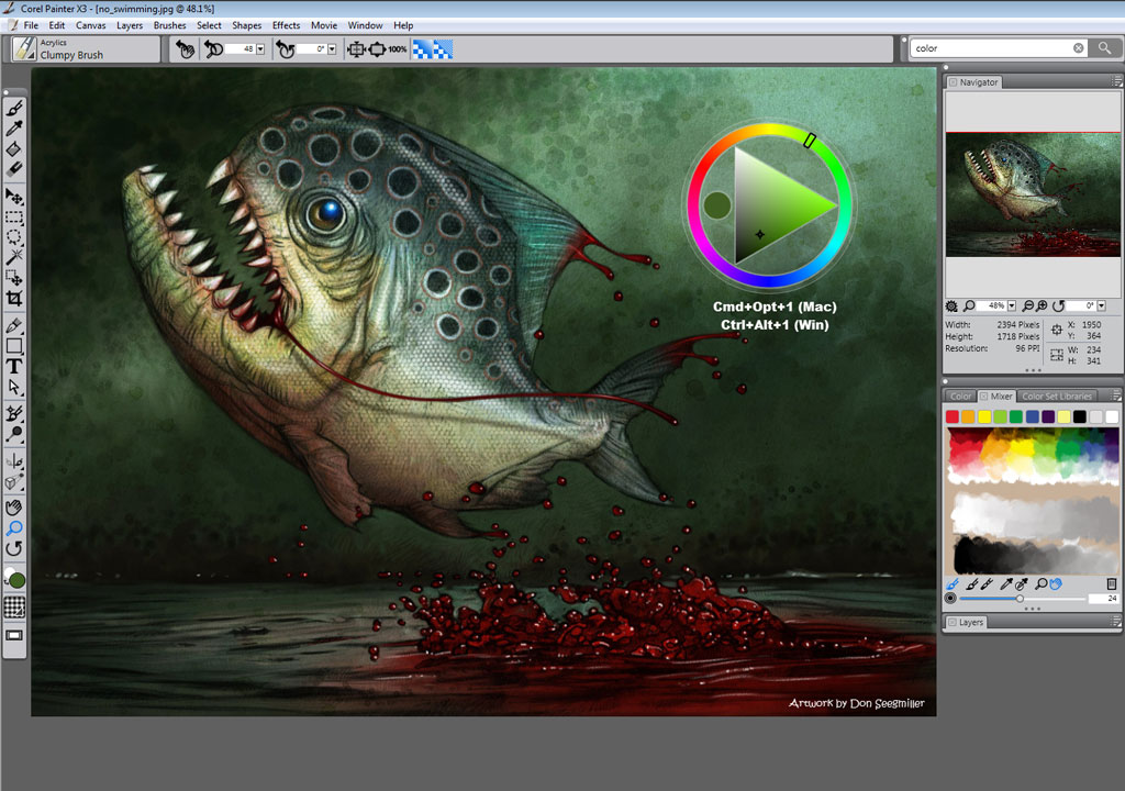 Corel painter x3 software Best painting software