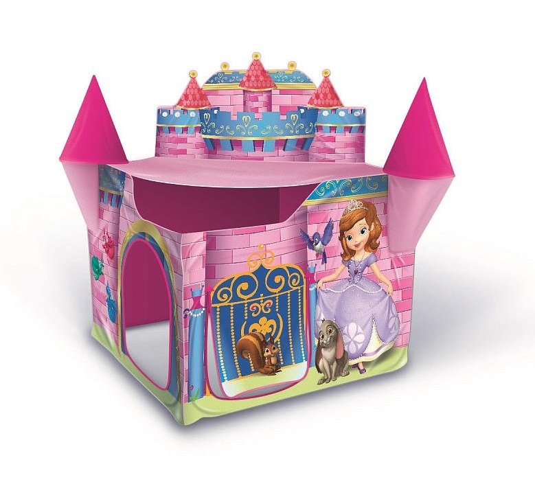 Made with durable soft material.  sc 1 st  Amazon.com & Amazon.com: Playhut Sofia The First Princess Castle Tent: Toys u0026 Games