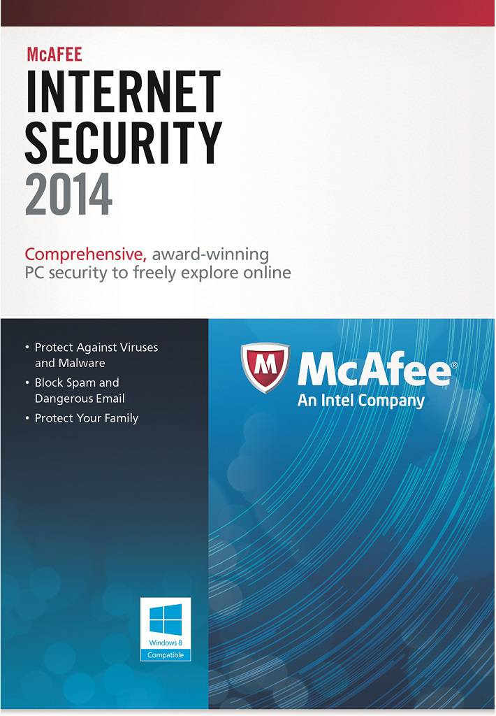 Amazon Com Mcafee Internet Security 3pc 2014 Software