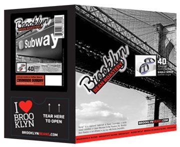 Brooklyn Bean Roastery Single-serve Cinnamon Subway