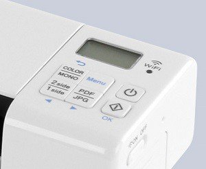 920DW Scanner features easy to read LCD display
