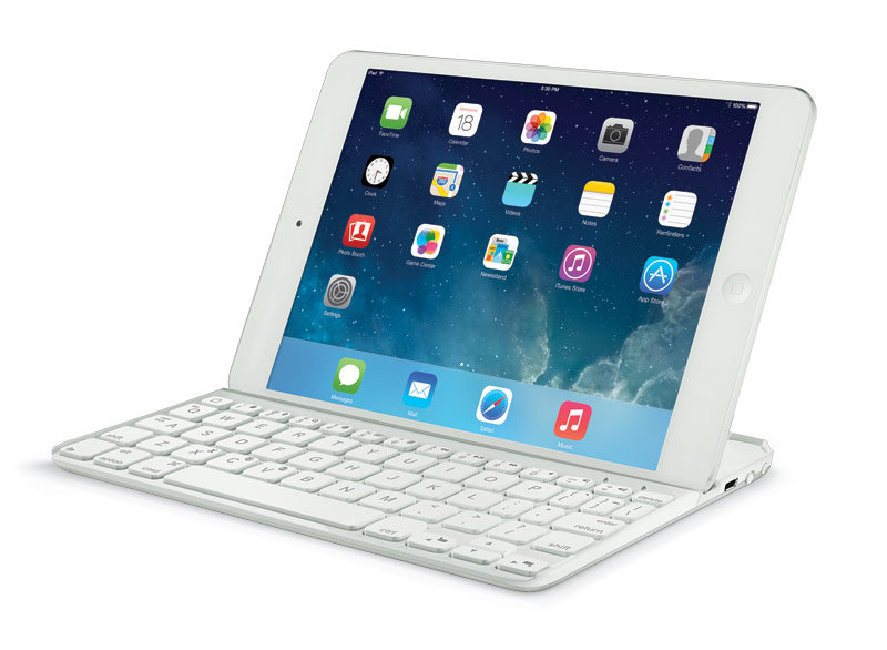 4474371f3d0 Amazon.com: Logitech Ultrathin Keyboard Cover for iPad 5, White ...