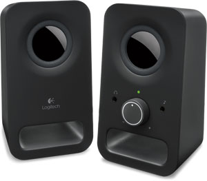 Logitech Multimedia Speakers Z150 (Black) Logitech Multimedia Speakers Z150 (Black)